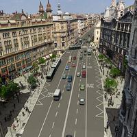 Breaking: mégsem dőlt el, hol lesz a Ferenciek terén a buszsáv - a BKK szeretné, ha középen lenne