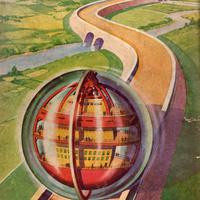 Atommeghajtású országjáró lakógömb, ahogy 1946-ban elképzelték - napi linkek