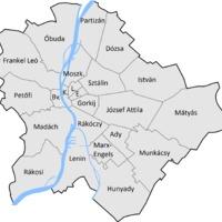 Partizánváros és Frankelleóváros - nézd meg, a ti kerületeteket hogy hívták volna, ha megvalósul ez a terv az 50-es években