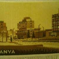 A nap hirdetése: Tatabánya-faliszőnyeg a<del>z 50-es évekből</del> város fénykorából