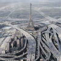 Ilyen lenne Párizs, ha annyi autó lenne benne mint Mumbaiban. És további furcsa párosok