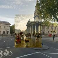 Fantasztikus képpárok London változásáról - ezúttal régi festményeket kereszteztek mai fotókkal!