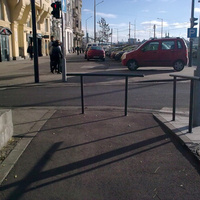 Ezt a kerékpárutat mégis hogy gondolták a Belgrád rakparton?* - napi linkek