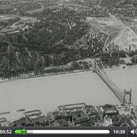 1936-os légifelvételek Budapestről. Egy fővárosunkért lelkesedő svéd úti film