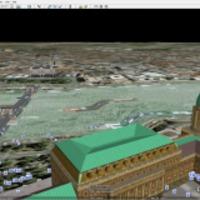 A pesti Niagara. Google-vízesés a Dunán