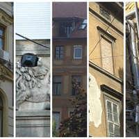 A nap kérdése: melyik a legborzasztóbb homlokzatbarmolás Budapesten? Lehet nevezni légkondival, reklámtáblával, nyílászáróval, erkélybeépítéssel és egyéb kategóriában is!