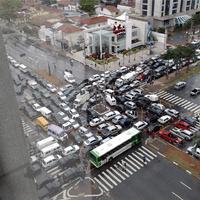 A világ öt legrémesebb forgalmi dugója. Volt, amikor 18 millió autó torlódott fel