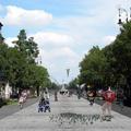 Hogy alakíthatnák az Andrássy utat sétálósabbá? Az autókat a szervizutakra terelnék, az Oktogon közepén sétatér jönne létre