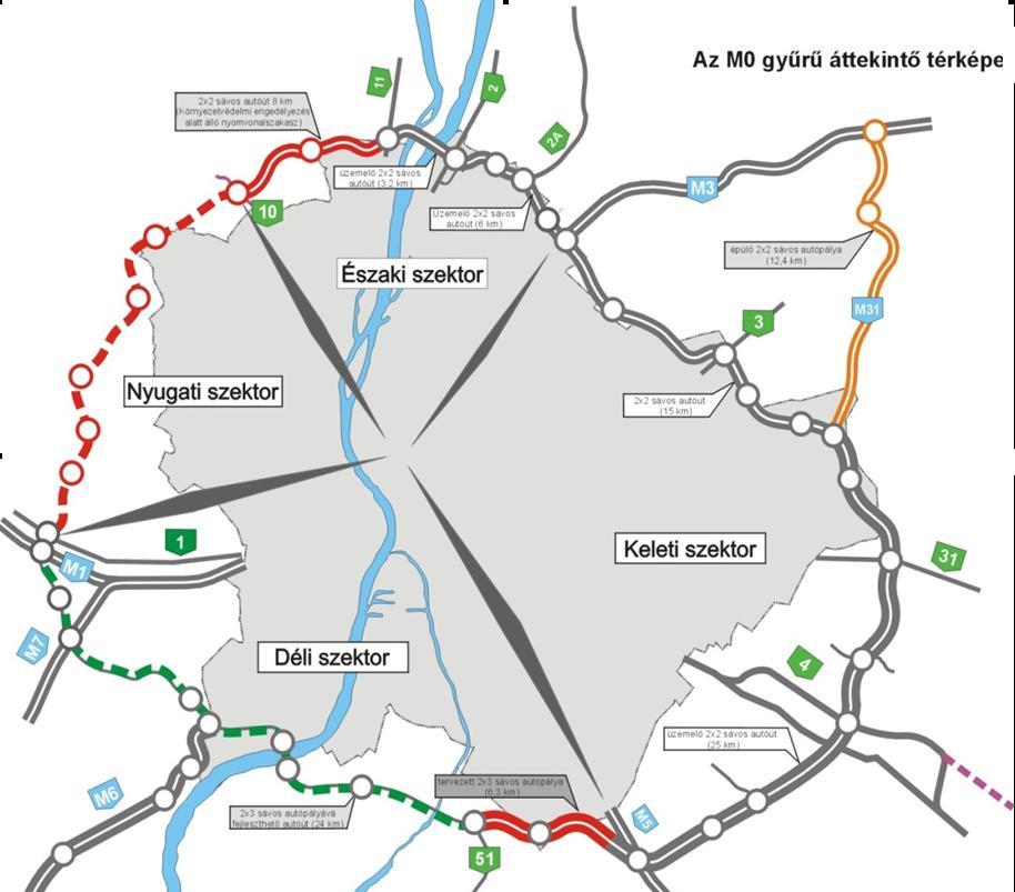 m0 felújítás térkép Tegnap újabb szakaszon bővítették az M0 st. Szeptemberre korrekt 3