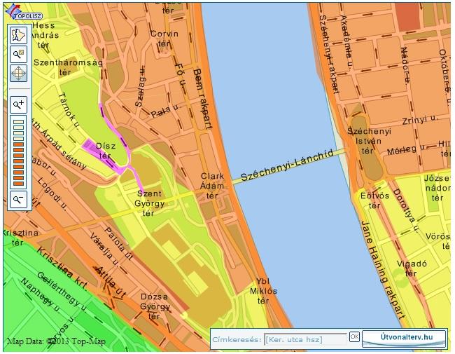 széchenyi tér budapest térkép Mi hiányzik az átlátható parkolási rendszerhez Budapesten  széchenyi tér budapest térkép