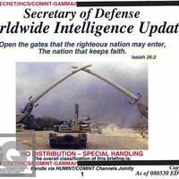 Bibliaidézetek Amerika iraki háborús dokumentumaiban?