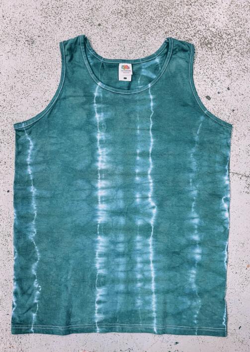 házilag otthon batikolt üres póló, táska, trikó kész 4
