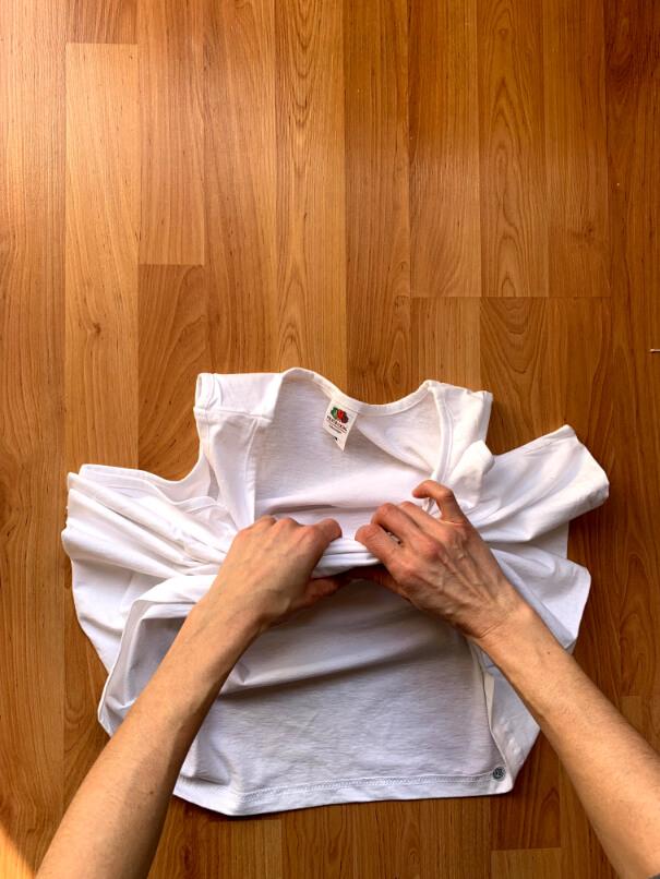 batikolás otthon házilag póló gyűrő technika 3