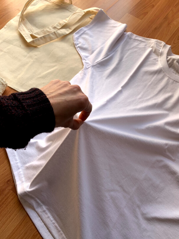 batikolt üres póló gyűrős módszer 1