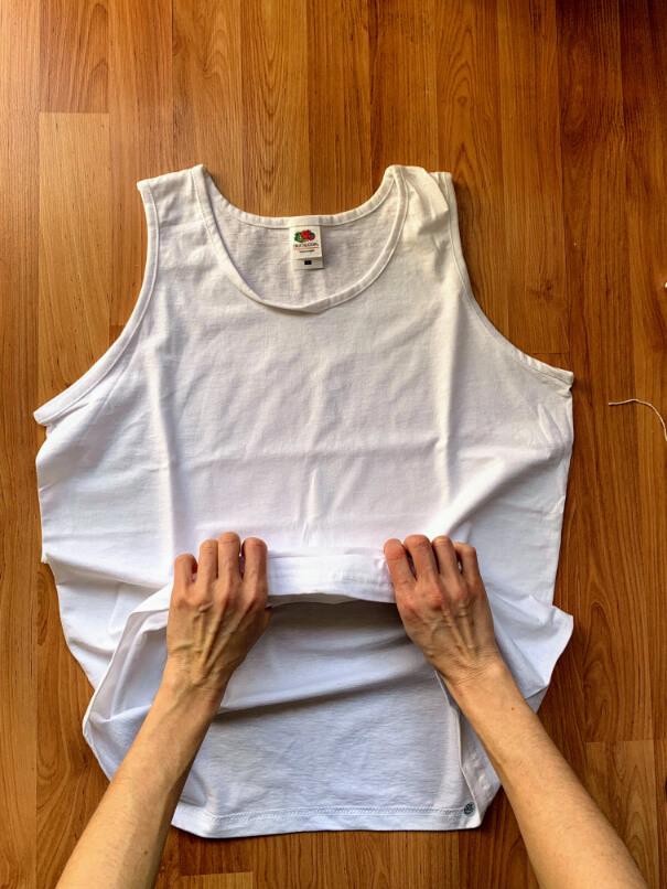 batikolás otthon házilag póló gyűrő technika 1