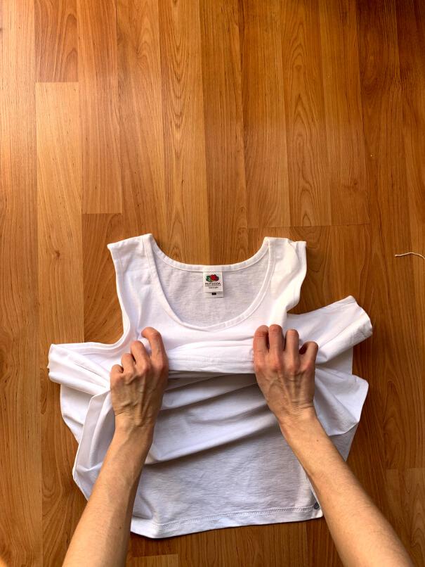 batikolás otthon házilag póló gyűrő technika 2