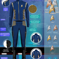 Ilyenek lesznek a Star Trek: Discovery egyenruhái