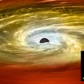 Elfojtják a csillagok keletkezését az ősi galaxisok magjában található fekete lyukak