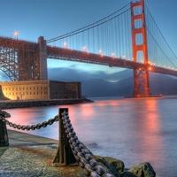 USA legszebb tájai - Golden Gate Bridge