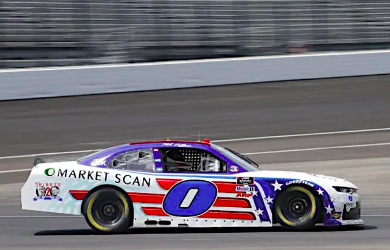 """Larson után újabb versenyzőt függesztett fel a NASCAR """"elfogadhatatlan viselkedés"""" miatt"""