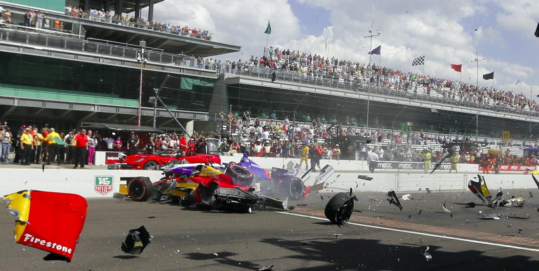 Flashback: Az IndyCar indianapolisi állórajt-katasztrófája