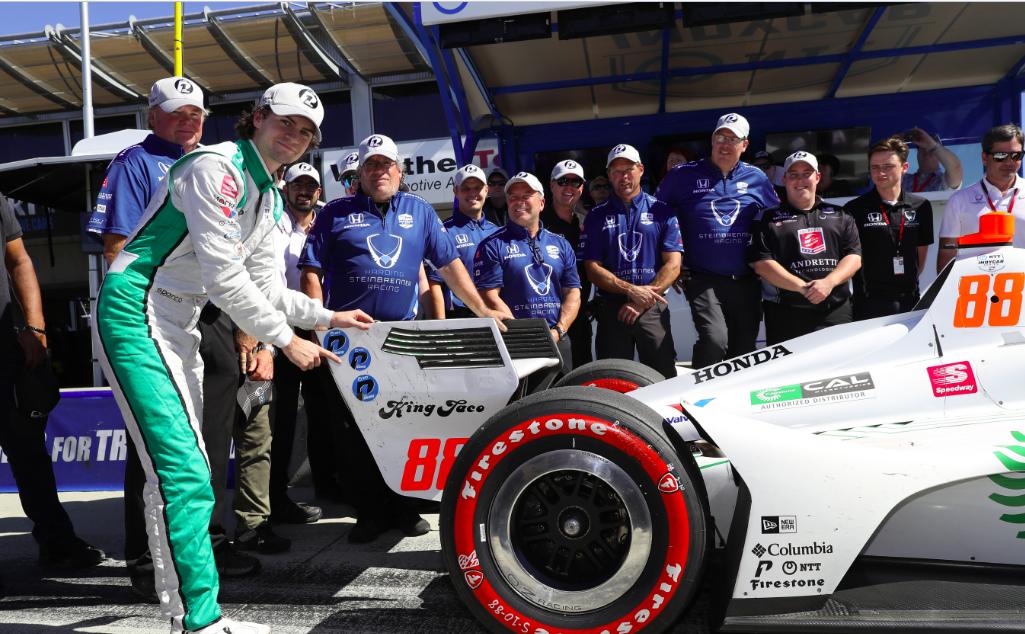 Colton Herta szerezte meg a 2019-es IndyCar-szezon legutolsó pole-ját