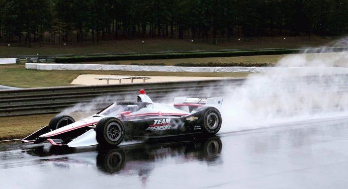 Esőben is jól vizsgázott az IndyCar aeroscreenje