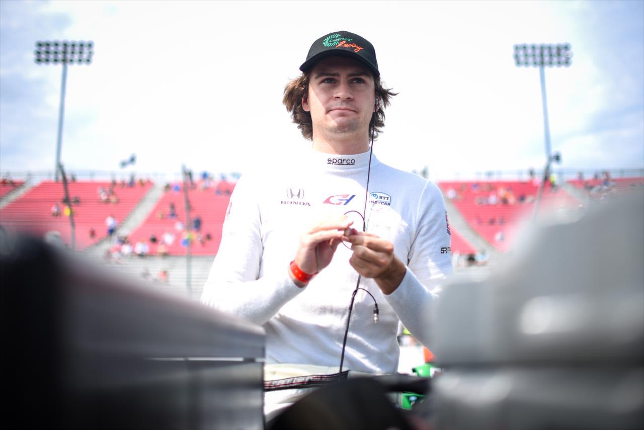 IndyCar: Colton Herta nyitott az élen St. Petersburgben