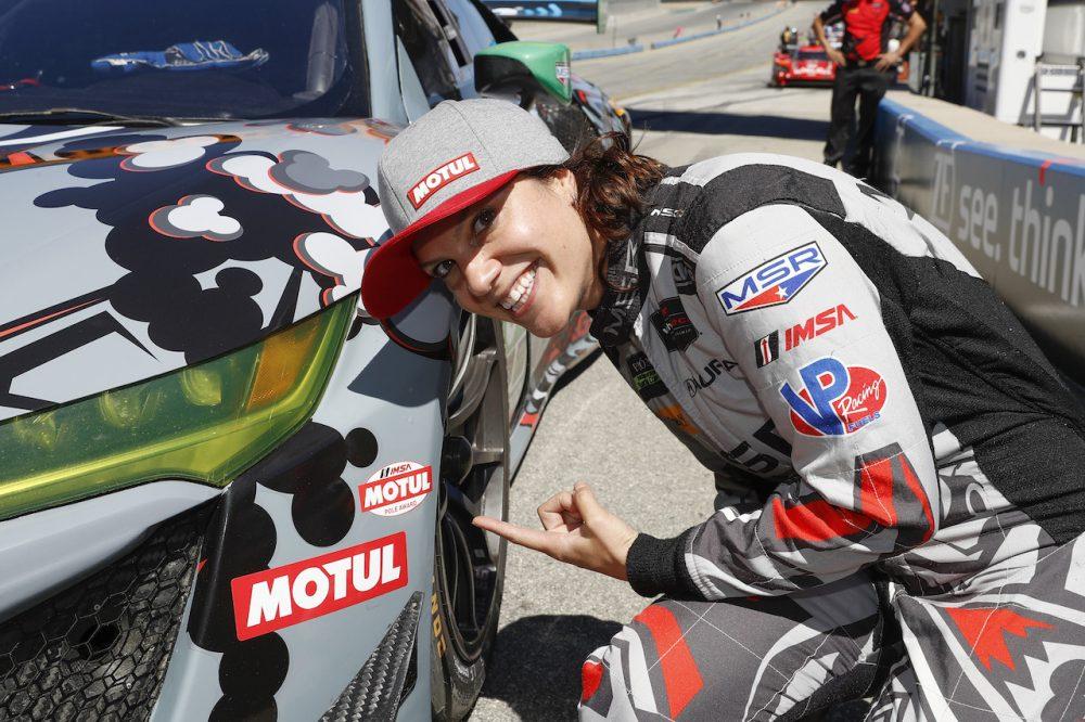 Katherine Legge-nek a sisakja is megsérült az ELMS-balesete során (FOTÓVAL)