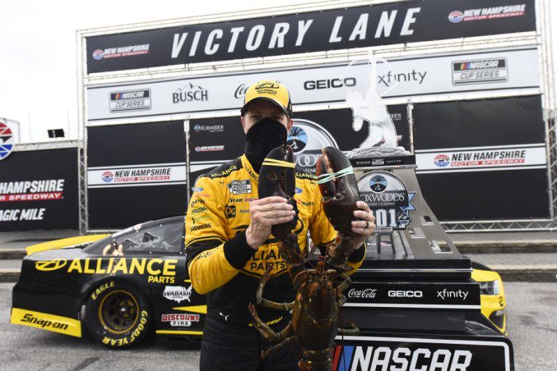 NASCAR: Keselowskinál landolt a New Hampshire-i homár