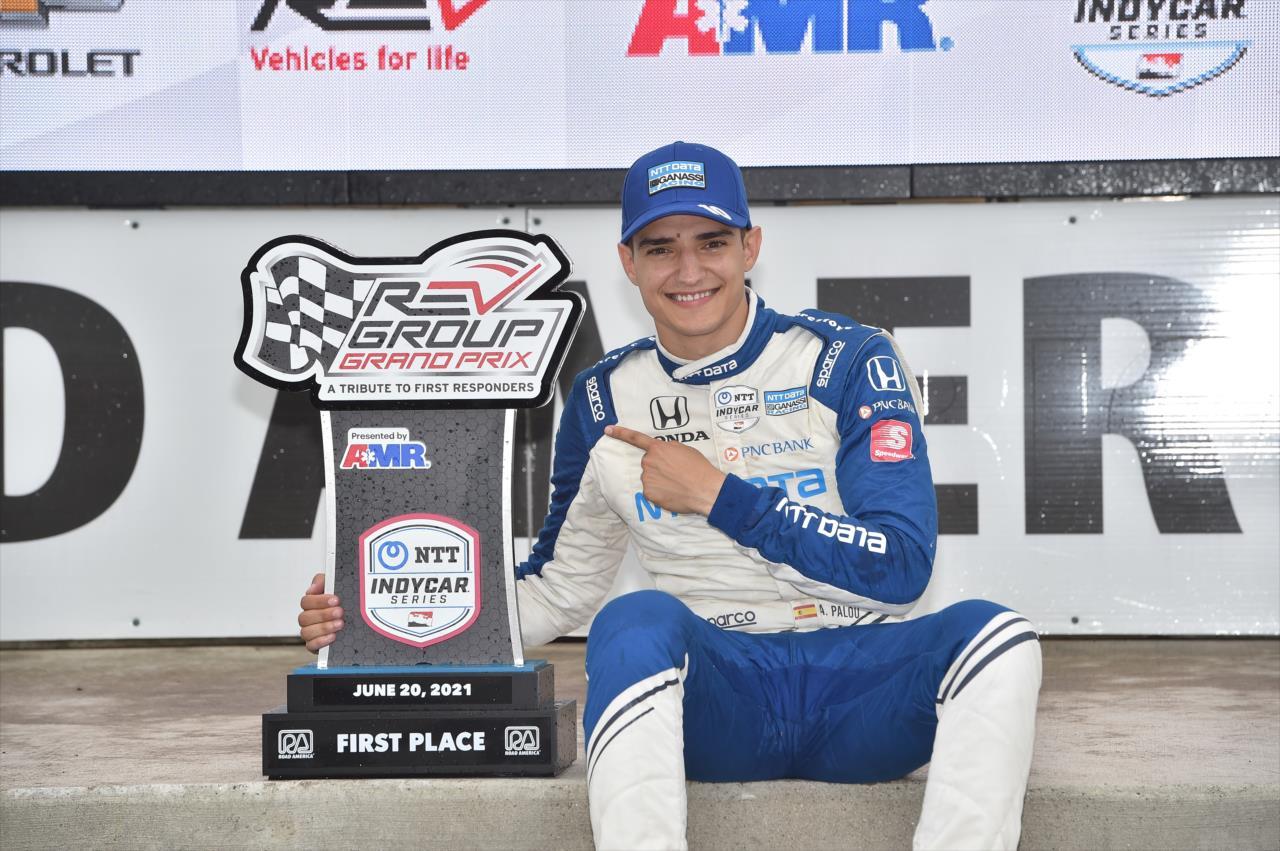 IndyCar: Newgarden szerint Palou a mezőny legjobb, fiatal versenyzője