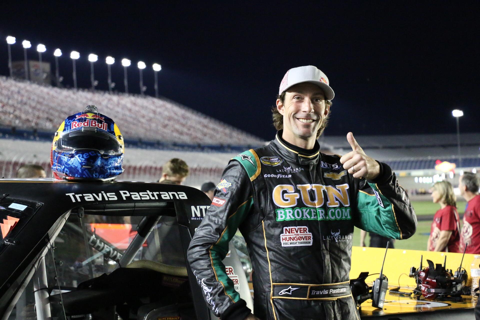 Travis Pastrana visszatér a NASCAR-ba
