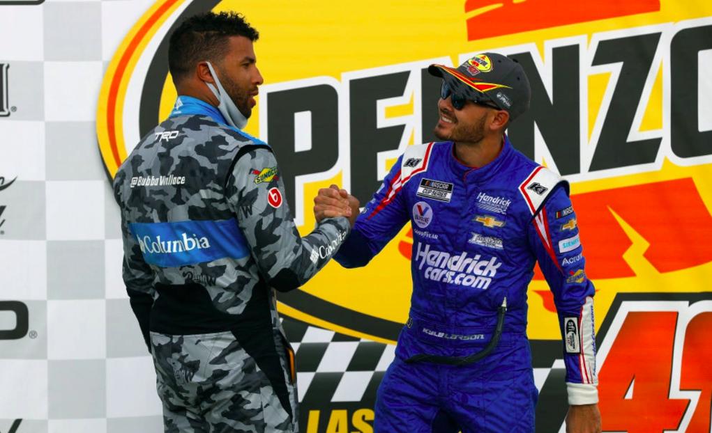 NASCAR: Bubba Wallace büszke Kyle Larsonra