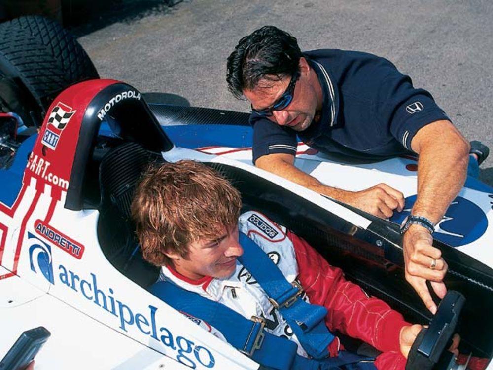 A nap, amikor Nicky Hayden CART-autót tesztelt