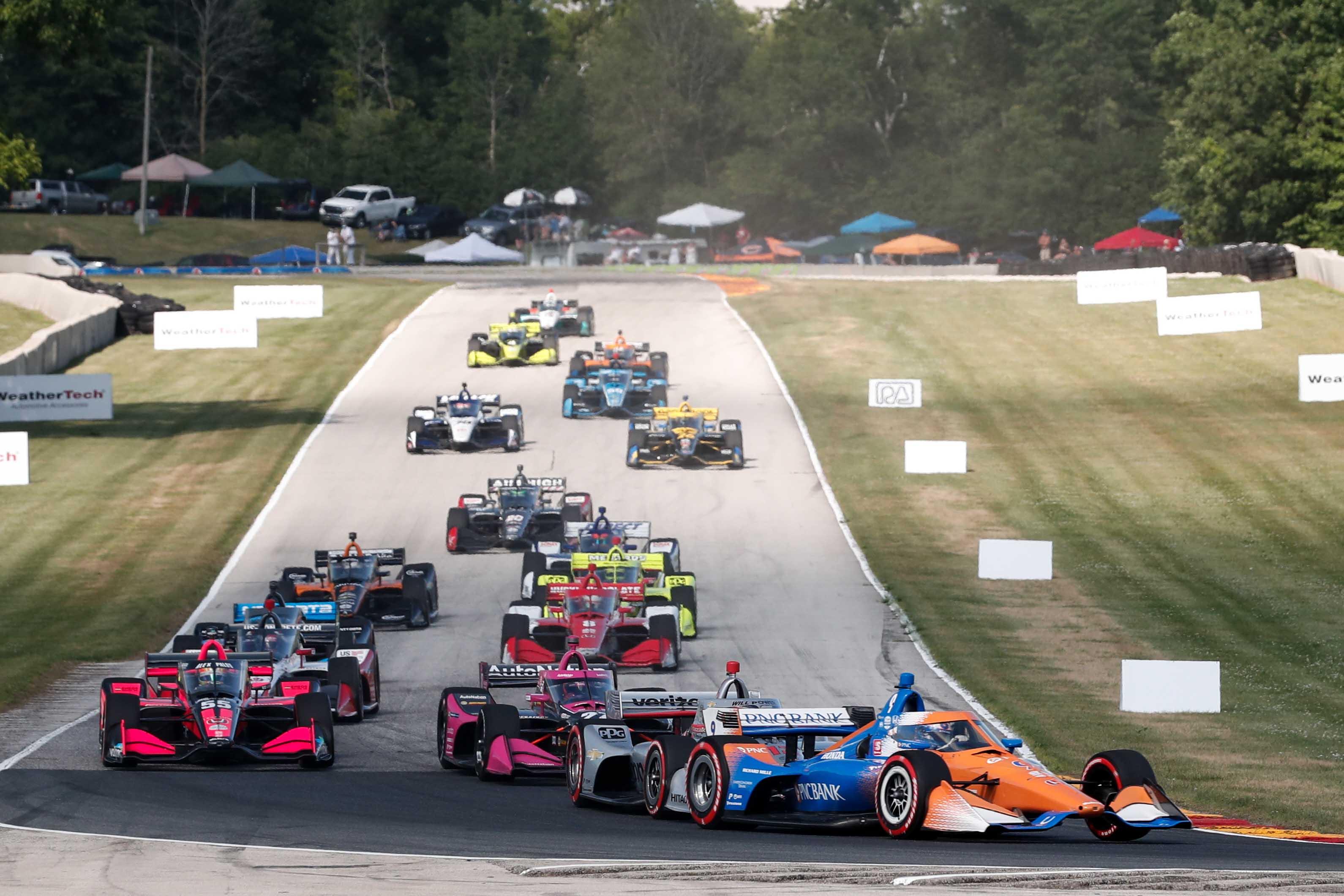 HIVATALOS: Elhalasztják az IndyCar Mid-Ohio-i versenyhétvégéjét