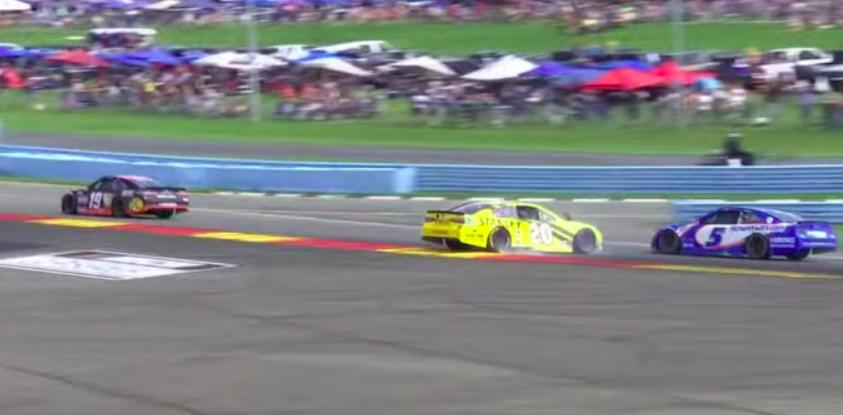 NASCAR: A dühös Bell továbbra sem hajlandó szóba állni Larsonnal