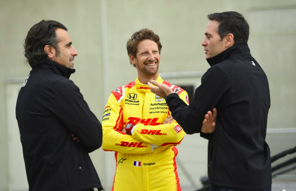 Grosjean és Johnson félhivatalosan, de letette az Indy 500 alkalmassági vizsgáját