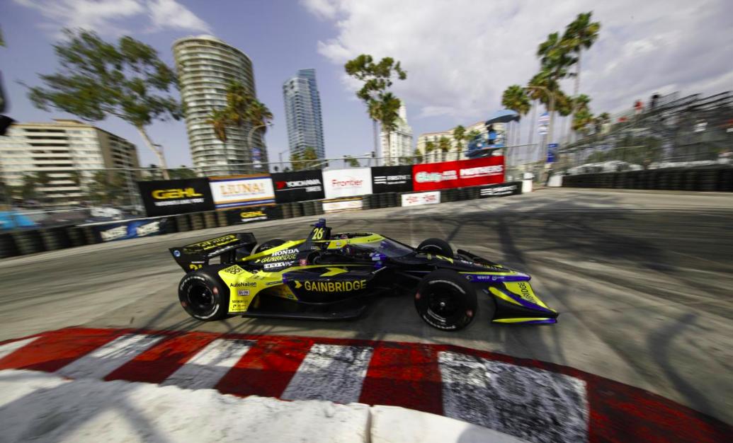 IndyCar: Herta nyitott az élen, Palou harmadik, O'Ward egyelőre szenved Long Beachen