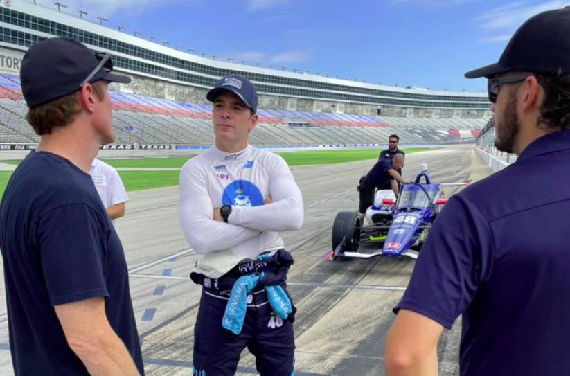IndyCar: Jimmie Johnson túlesett az első ováltesztjén