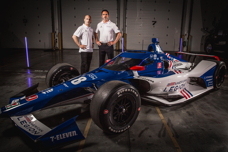 Ezzel az autóval vág neki 20. Indy 500-ának Tony Kanaan