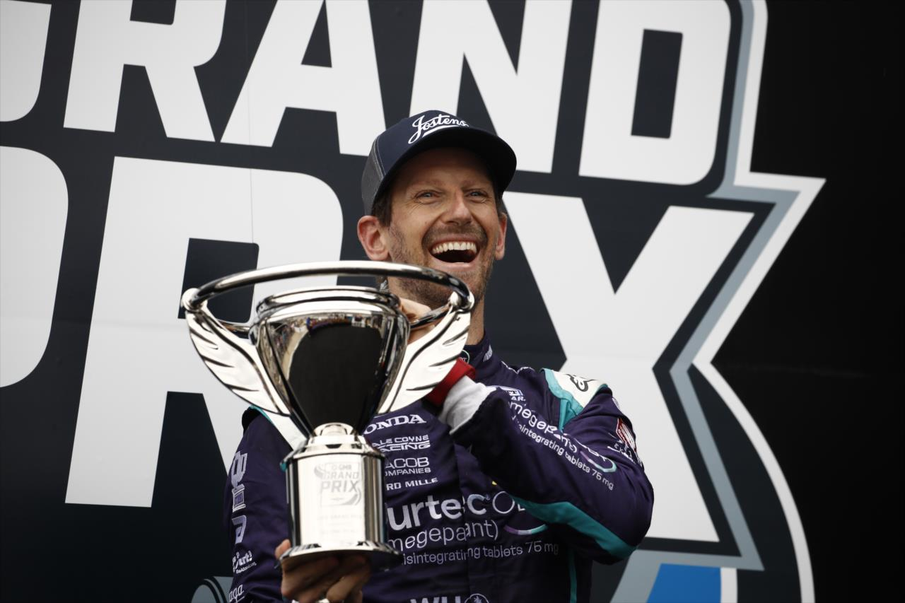 Grosjean már az Indy 500-ra gyakorol