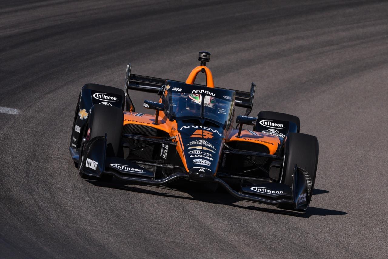 IndyCar: O'Ward zárta az élen az első és egyetlen szabadedzést Gatewayen