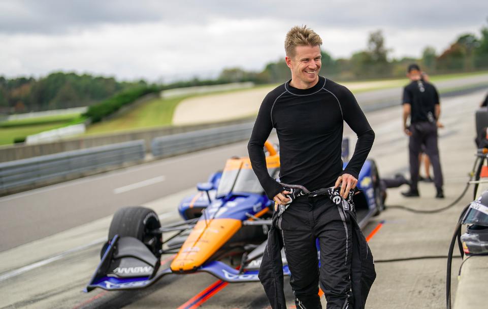 Hülkenberg az első IndyCar-tesztje után: Ez az autó egy szörnyeteg!