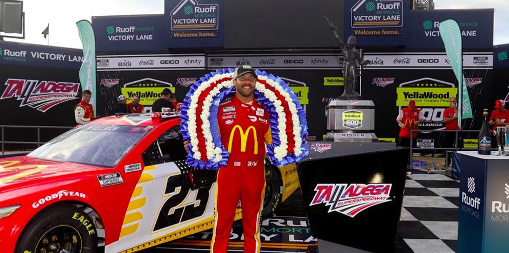 Az eladások alapján jelenleg Bubba Wallace a NASCAR legnépszerűbb versenyzője
