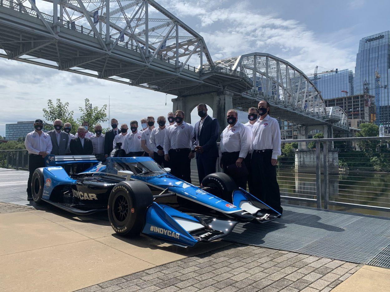 IndyCar: Rendhagyó pályabejárás Nashville-ben