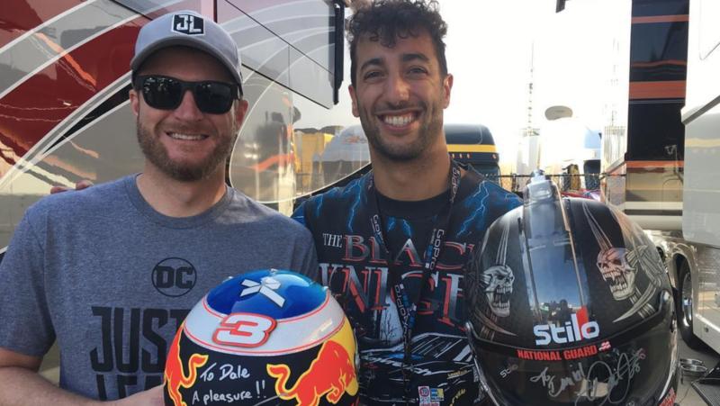 Daniel Ricciardo: Sírtam, amikor meghallottam Dale Earnhardt halálhírét