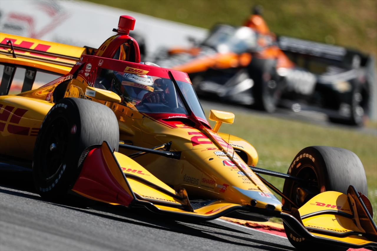 IndyCar: Hunter-Reay nyitott az élen Mid-Ohión, O'Ward autót tört