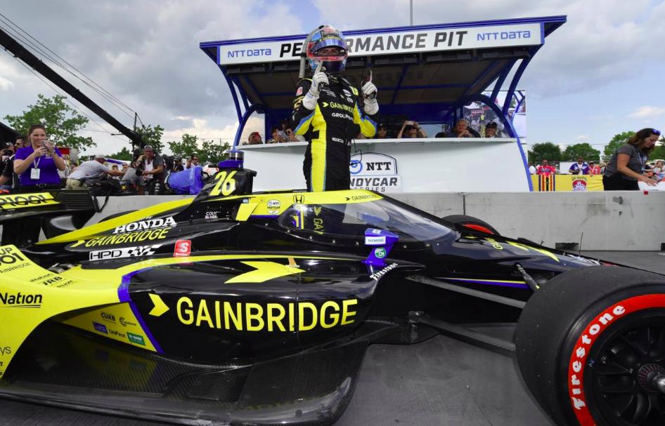 IndyCar: A saját ligájában lévő Herta szerezte meg a pole-t Nashville-ben