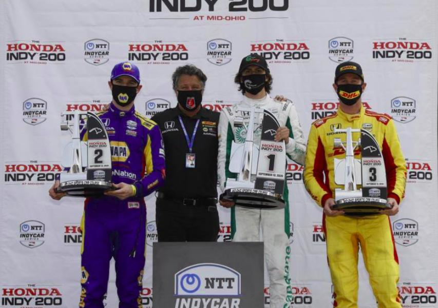 IndyCar: Herta győzött, 15 év után újra Andretti-pilóták uralták a dobogót