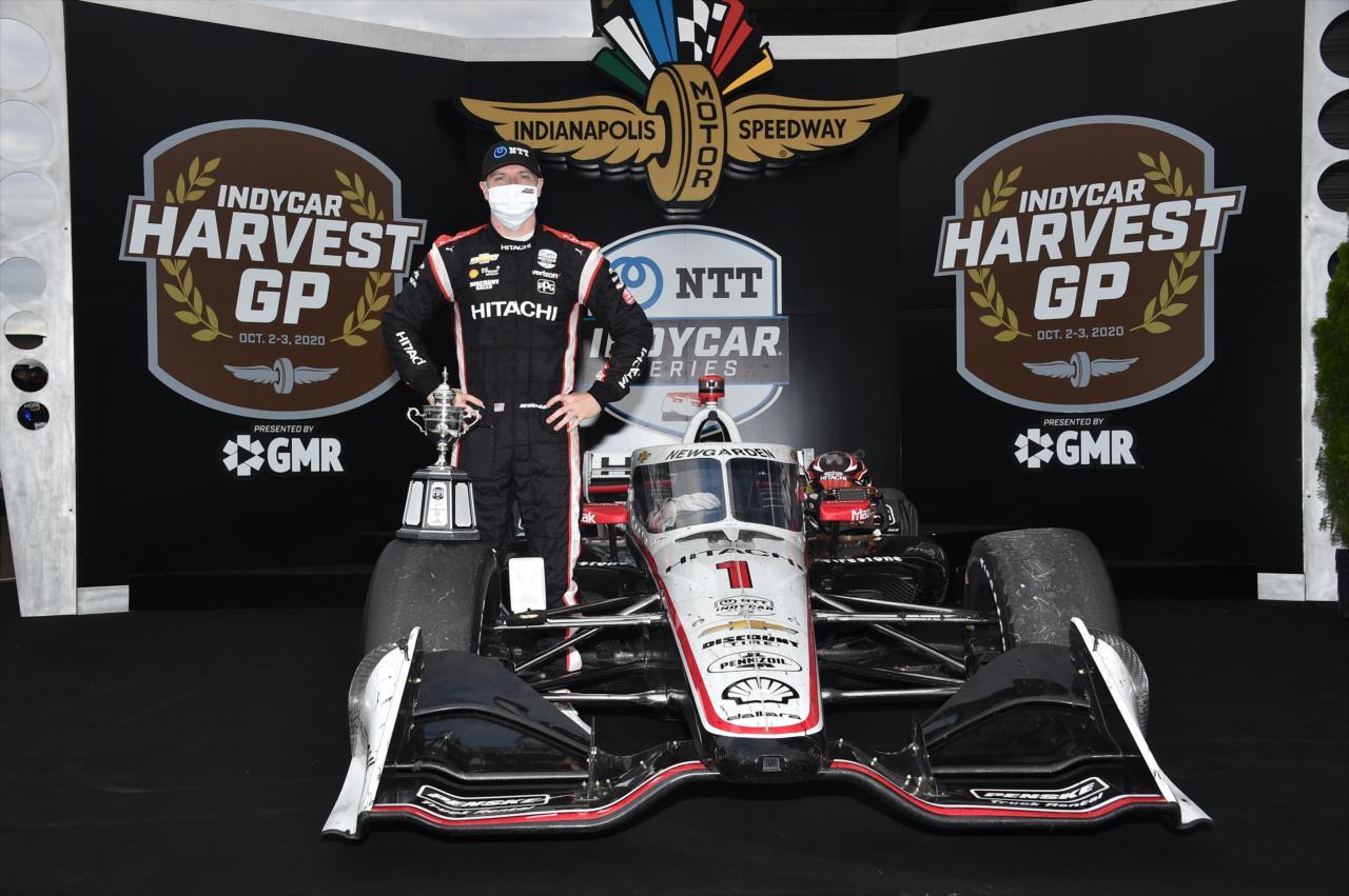 Newgarden megszerezte első győzelmét az Indianapolis Motor Speedwayen